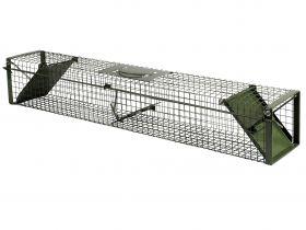 Doorloopval groen 100 cm dicht
