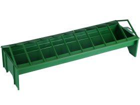 Kippenvoerbak kunststof groen