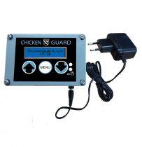 Kippenhokopener met timer en lichtsensor op 22V
