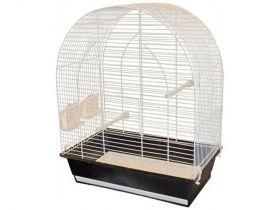 Vogelkooi Lucie wit-zwart